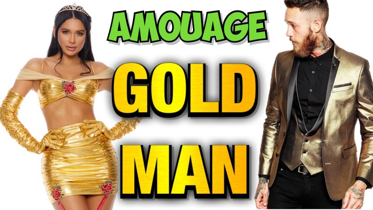 AMOUAGE 🤩 Gold Man 🤯