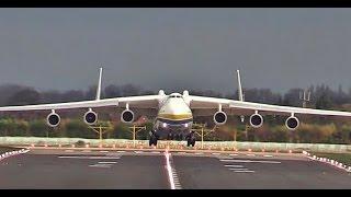 British airport welcomes world's largest jumbo jet