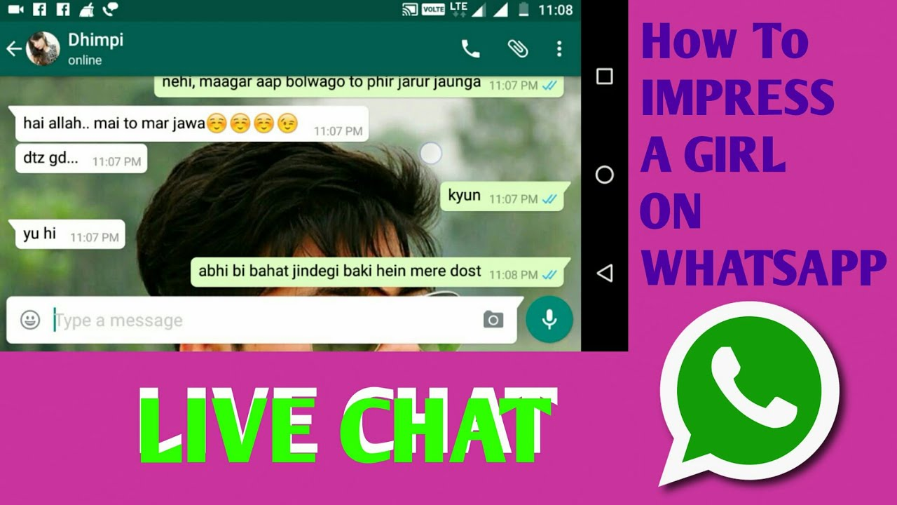 How Influence A Girl While Chatting