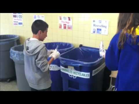 The Anne Hutchinson School Composting and Recycling Project