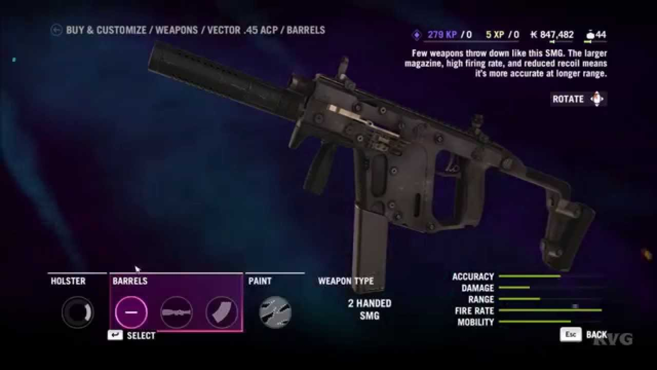 Far Cry 4 Customize Weapon Pc Hd 1080p Youtube