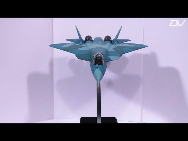 Ускоренная сборка истребителя Су-50 Звезда