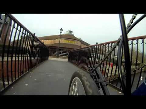 Tour of Taunton by Hand Pedal Cycle