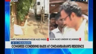 CBI raid at P Chidambaram, son Karti's residence in Chennai