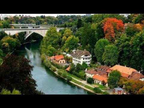 Beautiful Views Of Basel City Switzerland.
