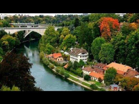 Beautiful Views Of Basel City Switzerland.