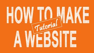 How to Make a WEBSITE or BLOG with WordPress - The easiest way!