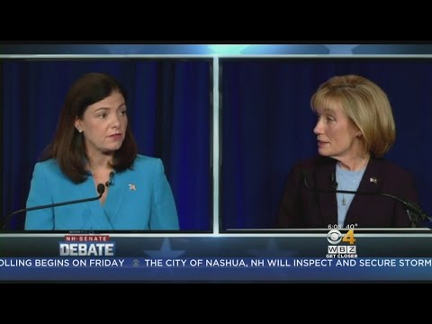 WBZ-UMass Poll: Ayotte Holds Thin Lead Over Hassan In NH Senate Race