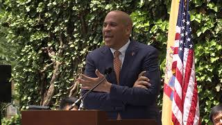 Cory Booker speaks at Princeton University's Class Day 2018