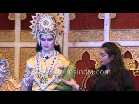 Ram, Lakshman and Sita leave Ayodhya for vanvas: RamLila Day 5 Part 2 (2016)