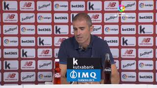 Rueda de prensa Athletic Club vs Real Madrid