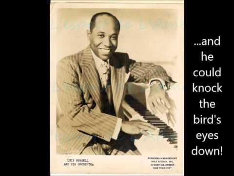 Jelly Roll Morton on Luis Russell (Library of Congress Recordings, 1938)