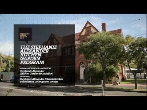Victorian State Of Design Awards Video Stephanie Alexander Kitchen