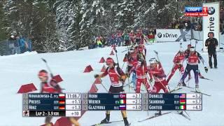 Биатлон. Кубок Мира 2014-2015. Этап 5 (Рупольдинг, Германия) Женщины. Масс-старт 12,5 км