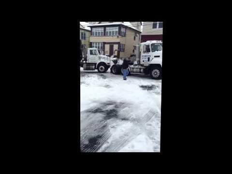 snow storm in Paterson NJ 2014