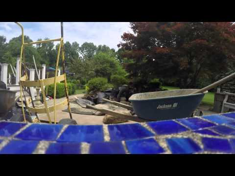 Ecosystem Pond Construction with Spillway Bowl Accent in Chester , NJ