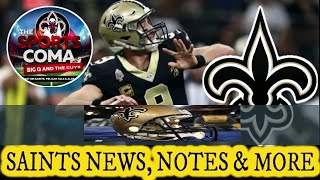 The Sports Coma Show #244 Saints News, Notes & More