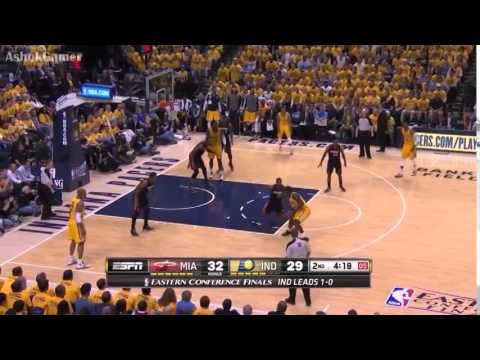 Miami Heat vs Indiana Pacers-Game 2 ( May 20, 2014 ) Full Game Highlights--NBA Playoffs 2014