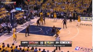 Repeat youtube video Miami Heat vs Indiana Pacers-Game 2 ( May 20, 2014 ) Full Game Highlights--NBA Playoffs 2014