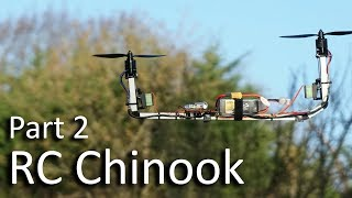 RC Chinook Bicopter Part 2