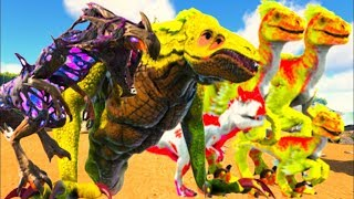 Libertei Os Prisioneiros Da Jaula, Corrompidos Enfurecidos Dinossauros! Ark Survival Evolved