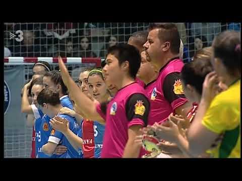 Mundial Femení 2017 Catalunya - Brasil