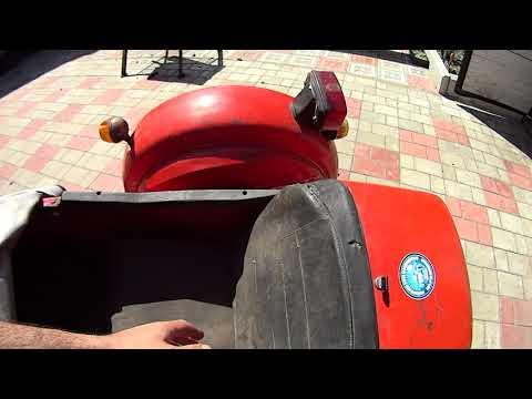 Ремонт бокового прицепа ВМЗ 9.203 для мотоцикла ИЖ. Окончательная сборка.