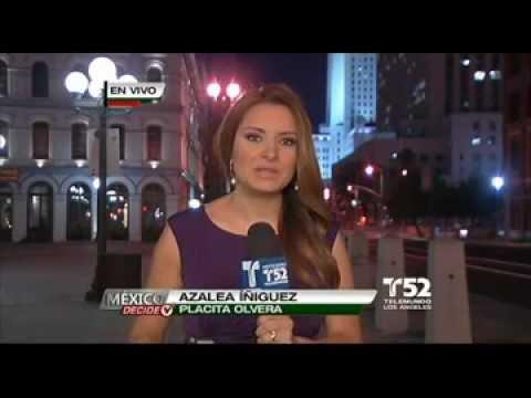 Alzan la voz en Los Angeles   Telemundo 52   Los Angeles