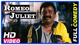 Romeo Juliet Tamil Movie | Full Comedy Scenes | Jayam Ravi | Hansika | VTV Ganesh