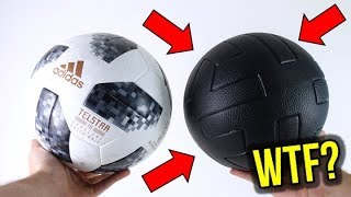 ADIDAS MADE A SPECIAL LEATHER 2018 WORLD CUP FOOTBALL!?