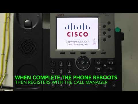 How to Reset a Cisco 7940 IP Phone by jjvideo25