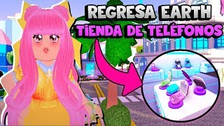 👑 EARTH! PHONE STORE AND NEW WINGS! - ROYALE HIGH - ROBLOX