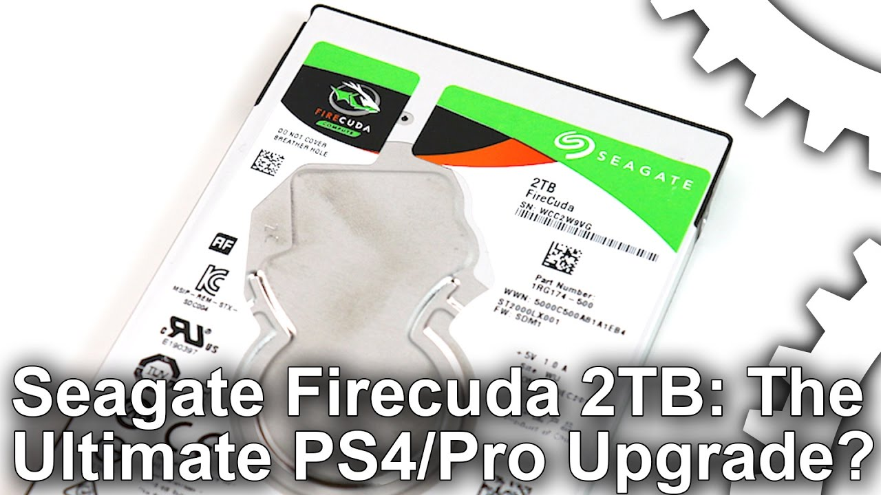 Seagate Firecuda 2TB review: the ultimate PS4 storage