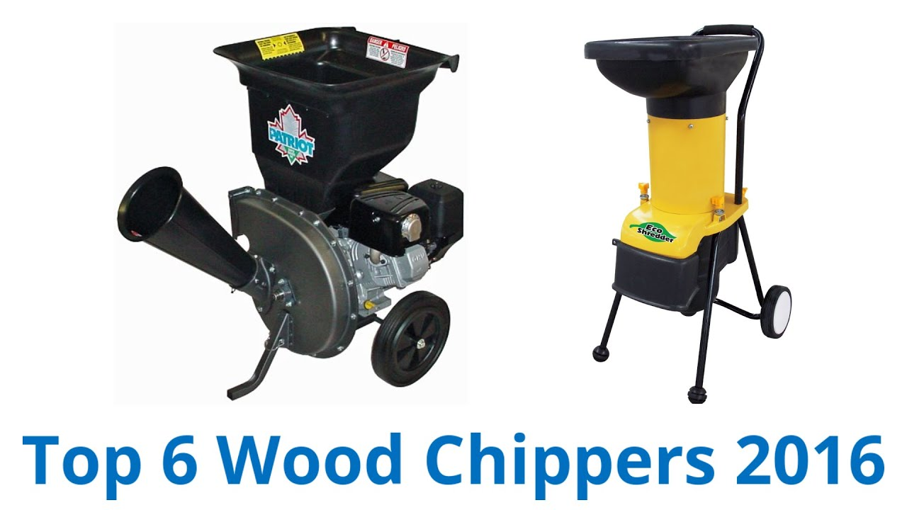 6 Best Wood Chippers 2016 - YouTube