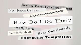 MSG # 2: How Do I Love My Enemy?