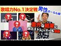 【大公開】歌唱力ランキングTop5【男性アーティスト編】