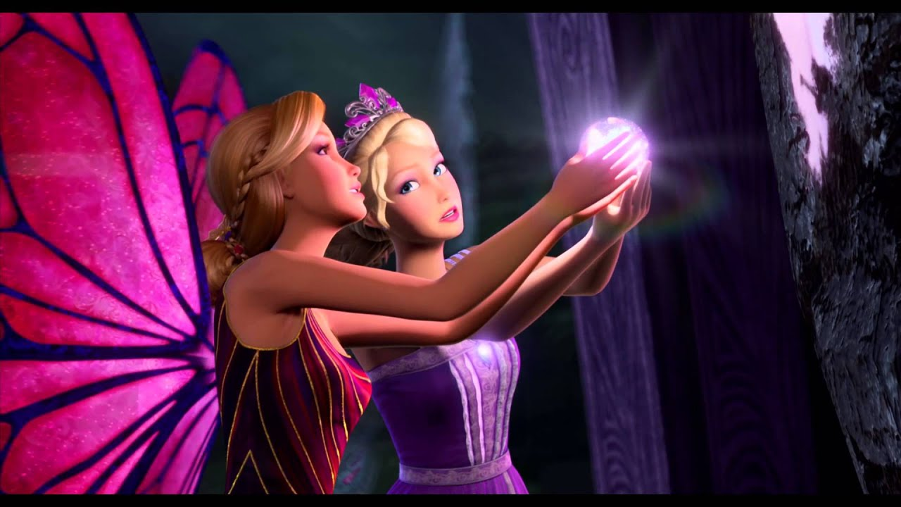 Barbie Mariposa The Princess Trailer Own It On Blu Ray Dvd August 27 2013