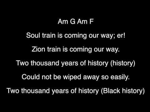 Bob Marley   Zion Train   Lyrics and Chords