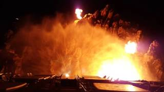 lottehotel volcano show (whasa…