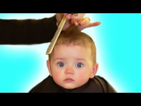 First Hair Cut The Baby Book Youtube