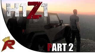 """H1Z1 Gameplay - Part 2: """"Repairing a Vehicle"""" (Early Access)"""
