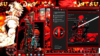 Tema de deadpool para windows 8,8 1,10