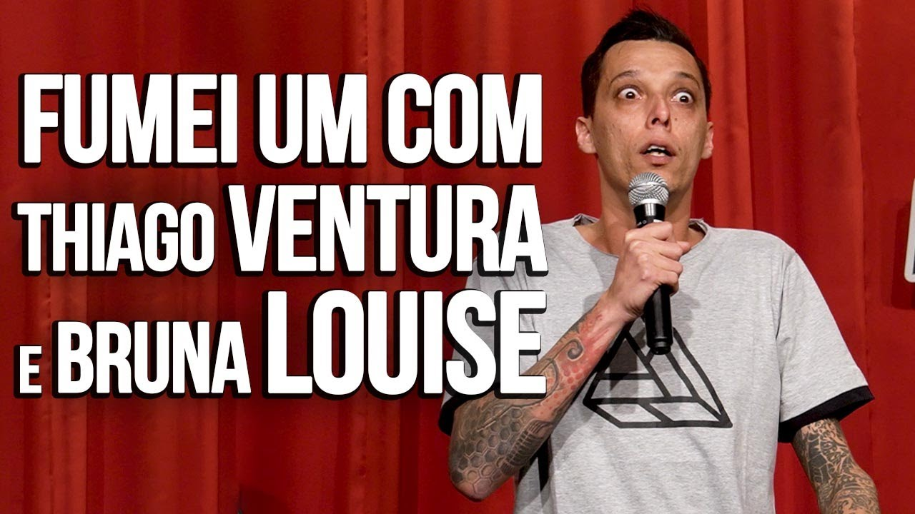 QUARENTENADO NA CASA DO @Thiago Ventura feat @Bruna Louise - NIL AGRA - STAND UP COMEDY