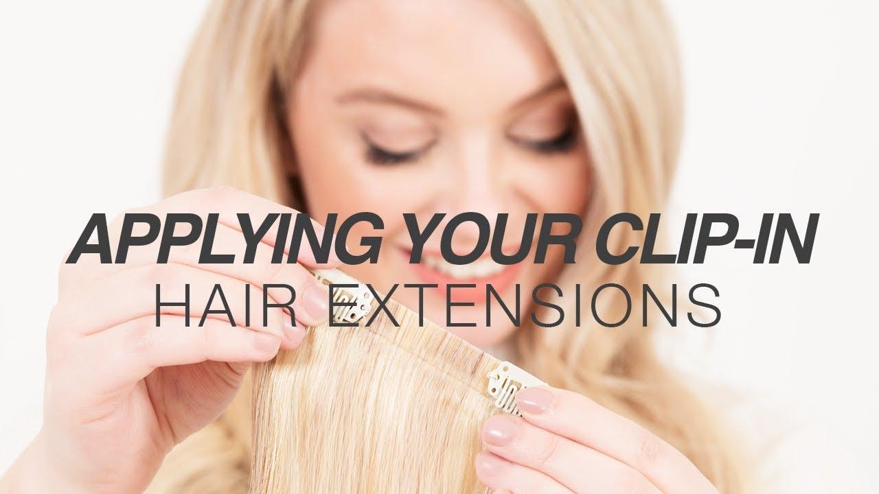 How To Apply Milk Blush Hair Extensions Milk Blush Hair