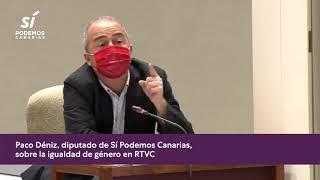 Paco Déniz sobre la igualdad de género en RTVC y en el sector audiovisual 📺