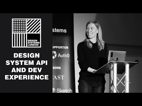 Design System APIs And The Developer Experience - Diana Mounter - Design Systems London