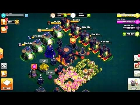 CLASH OF CLANS NIGHT MODE GAMEPLAY | COC NEW UPDATE | OMG ! IT'S AMAZING ! | COC NIGHT MODE !