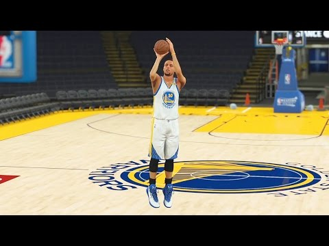 Best Giant Player Three Point Contest Ever - Stephen Curry, Kevin Durant, Kyrie Irving! NBA 2K17