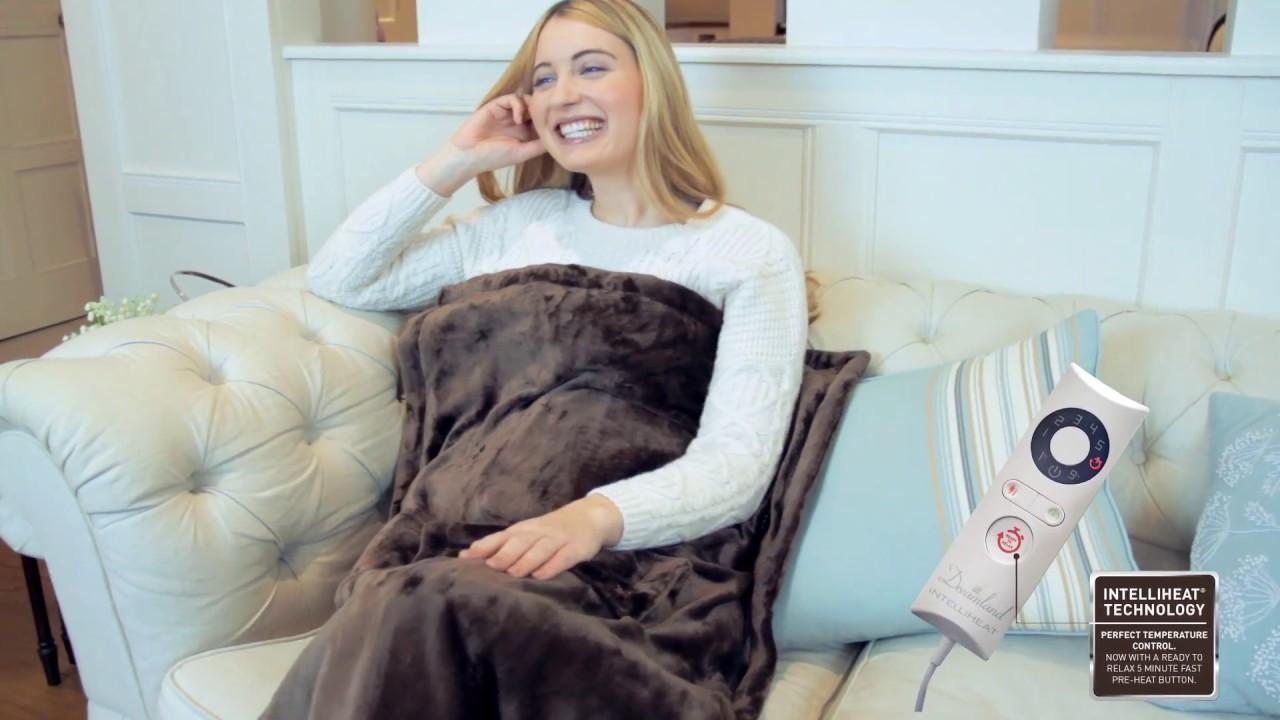 Relaxwell Heated Lap Blanket