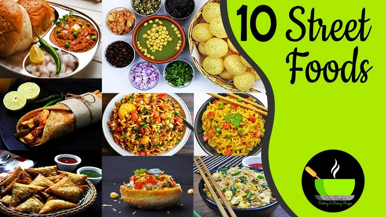 Top 10 Indian Street Food Recipes Mumbai Street Food 10 Vegetarian Indian Street Foods